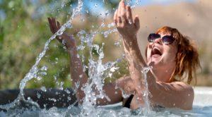 hot tub temperature degrees