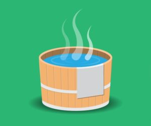 how much electricity does a hot tub use