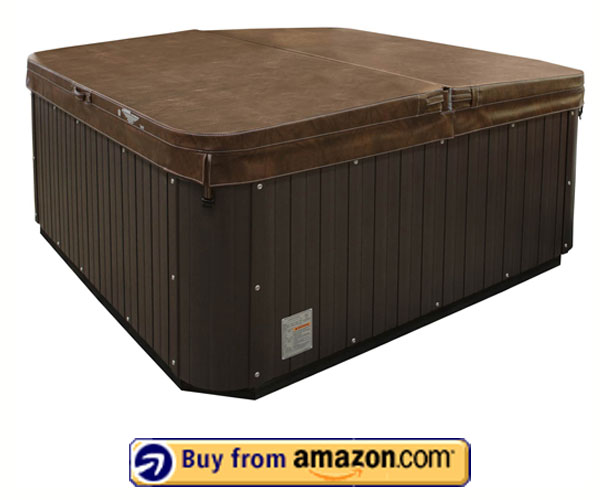 American Spas AM-420B - Best 2 Person Inflatable Hot Tub With Plug n Play and Free Cover