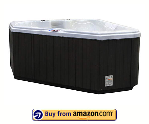 American Spas AM-628TS – Best Hot Tubs 2020 With Plug-in-Play System, Multi Color Spa Light, and Cover