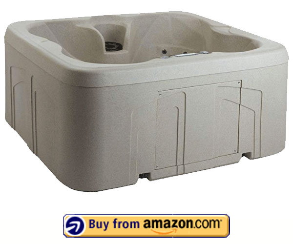 Lifesmart Rock Solid Simplicity – Best Plug and Play 4 Person Hot Tub 2020