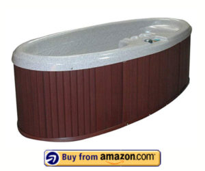 QCA Spas Model O Gemini – Best 2 Person Small Hot Tubs For Balcony With Plug and Play