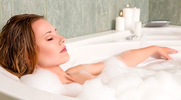 hot baths when pregnant nhs