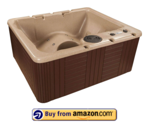 Best Plug And Play 15 Jets Lounger Spa – 3 Person Hot Tub Costco