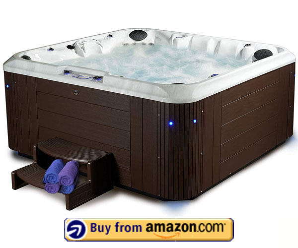 Essential Hot Tubs 100 Jets – 6 Person Hot Tubs 2020