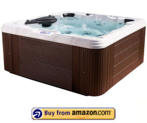 Essential Hot Tubs 60 Jets – 8 Person Round Hot Tub