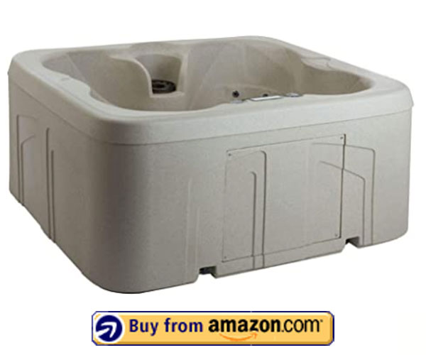 Life Smart 4 Person Plug & Play Hot Tub Spa – Best 4 Person Hot Tub 2020