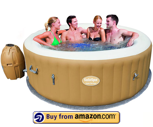 Bestway Palm Springs Hot Tub – 6 Person Inflatable Hot Tub 2020