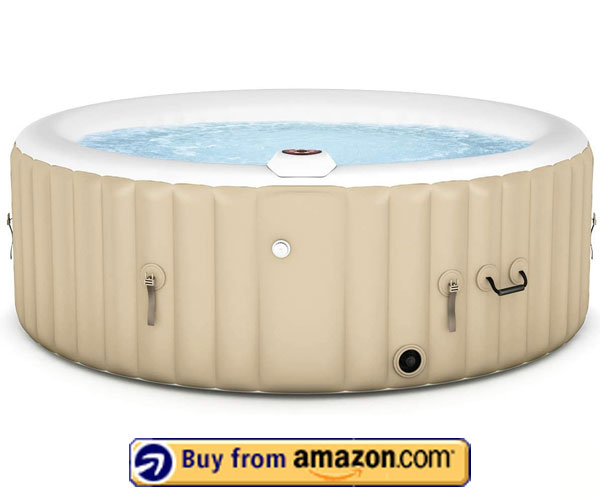 Goplus Outdoor Spa Inflatable Hot Tub – Portable Inflatable Hot Tub 2020