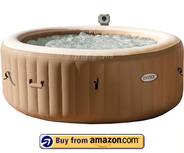 Intex 77in PureSpa Portable Bubble Massage Spa Set – Best Hot Tub Brands 2020