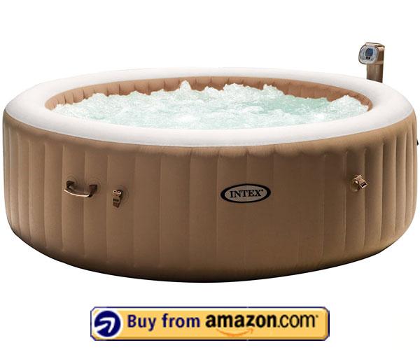 Intex PureSpa Portable Bubble Spa – Best Intex Inflatable Hot Tub 2020
