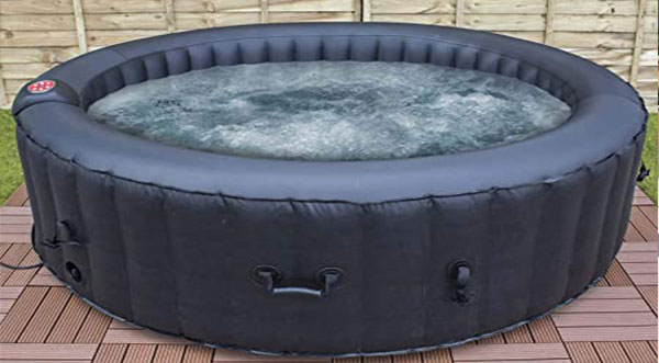 Placing Your Inflatable Hot Tub On Deck