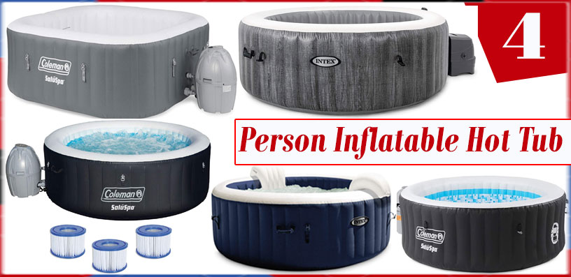 4 person inflatable hot tub 2020