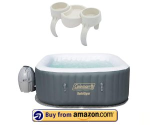Coleman SaluSpa Spa – Best Inflatable Hot Tub with Jets 2020