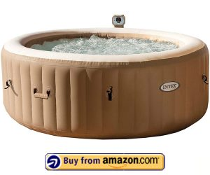 Intex Intex 77in PureSpa Portable Bubble Massage Spa - Best Portable Inflatable Hot Tub 2020