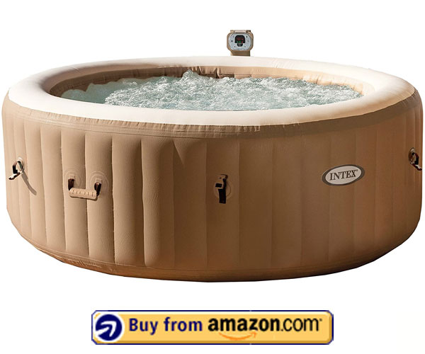 Intex Intex 77in PureSpa Portable Bubble Massage Spa - Best Portable Inflatable Hot Tub 2020