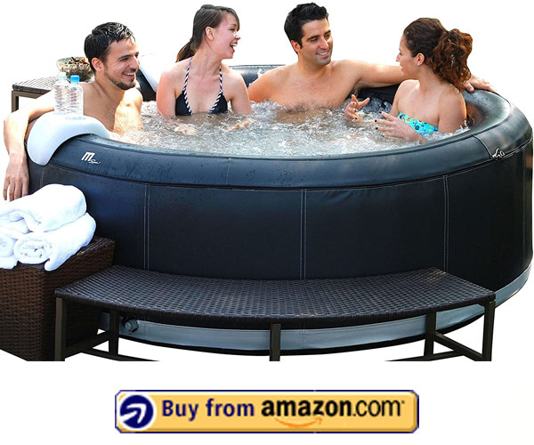MSpa M-031S Round Spa – 4 Person Inflatable Hot Tub 2020