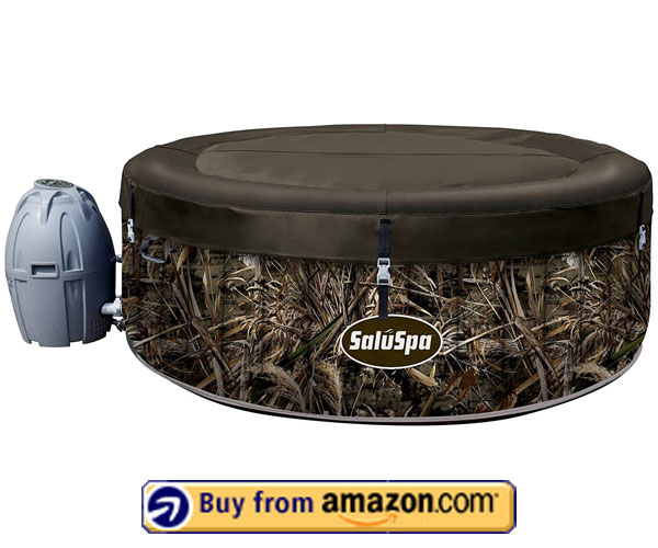 Realtree SaluSpa MAX-5 – Blow up Hot Tub 2020
