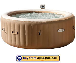 Intex 77in PureSpa Portable Bubble Massage Spa
