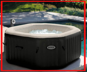 inflatable hot tub with jets