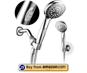 HotelSpa 7-setting AquaCare Series Spiral – Best Handheld Shower Head With On/Off Switch 2020 – Amazon's Choice