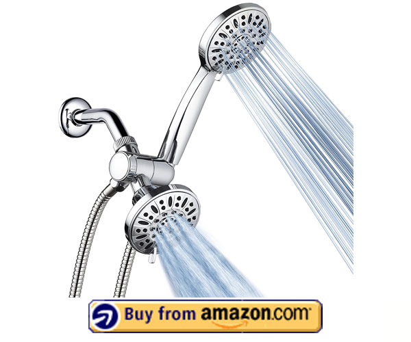 Aqua Dance 30 – Setting Premium 3-Way Shower Head – Best Handheld Shower Head With On/Off switch – Amazon's Choice