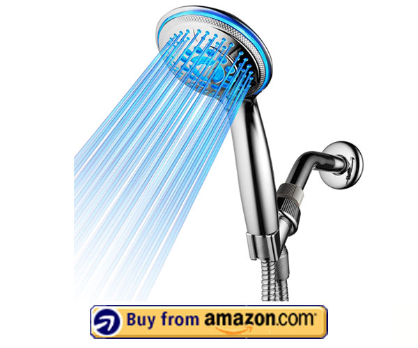 DreamSpa 5-Setting LED Handheld Showerhead – Best Handheld Shower Head 2020
