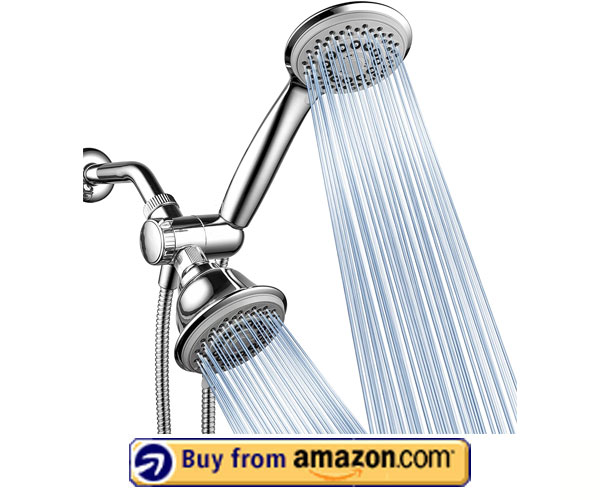 AquaStorm by HotelSpa 30-Setting Shower Head – Best Shower Head With Handheld Combo 2020