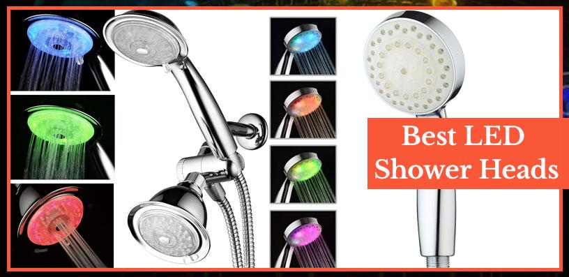 Best LED Shower Heads 2020