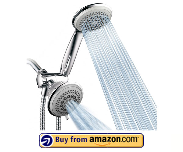 DreamSpa 36-setting Ultra-Luxury 3-way Multi Shower – Best Dual Shower Head 2020