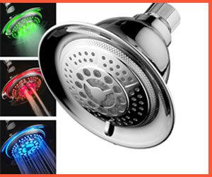 best led shower heads